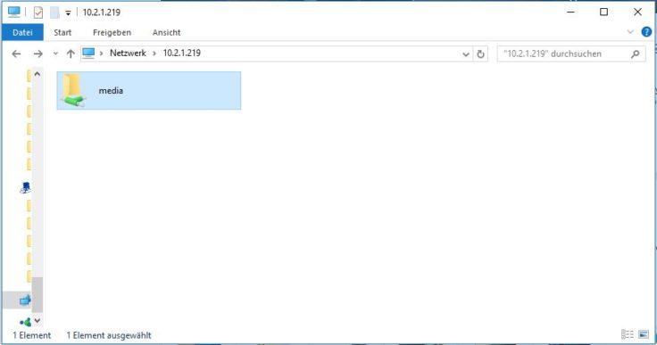 Xiaomi Network Sepaker Zugriff PC