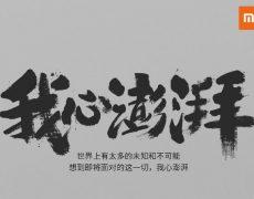 Xiaomi Pinecone Prozessor Ankündigung