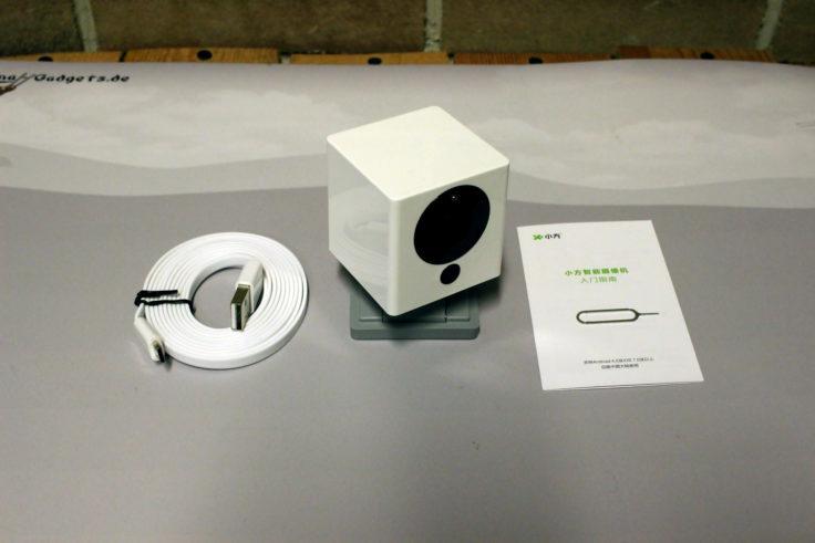Xiaomi Xiaofang IP Camera iSC5 Lieferumfang