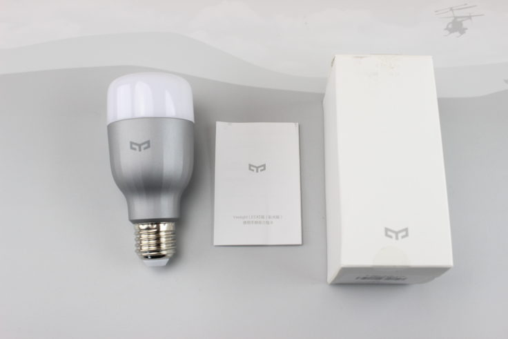Xiaomi Yeelight Smart LED Glühbirne Lieferumfang