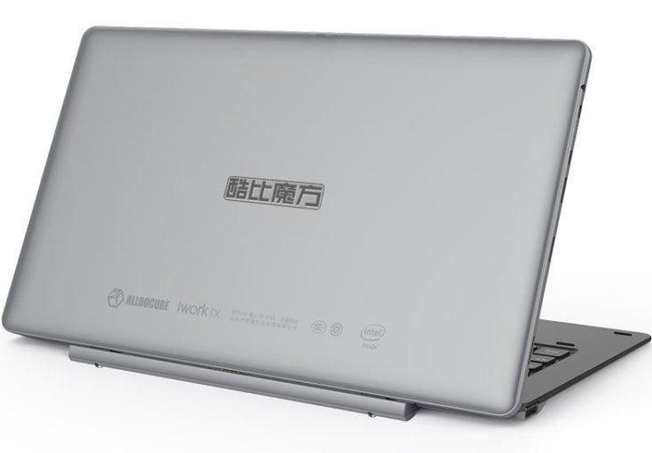 Cube iwork1x Tablet PC Rückseite