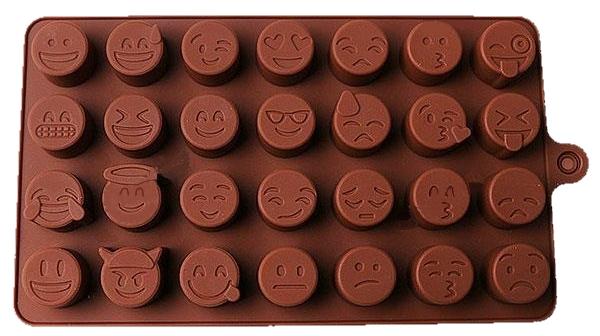 Eiswürfel Form Smileys