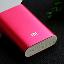 pinke Xiaomi Powerbank