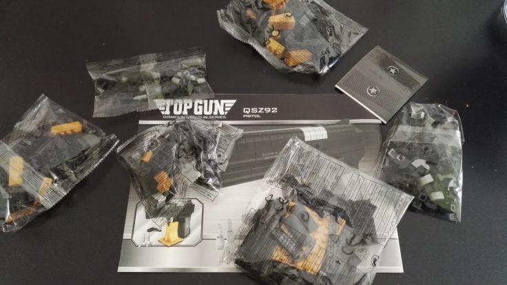 Bausteine Pistole Verpackung
