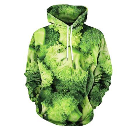 Brokkoli-Hoodie