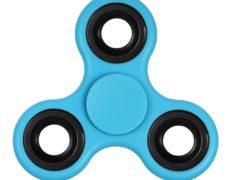 Fidget Spinner Klassiker blau