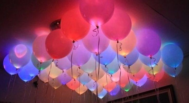 LED-Luftballons