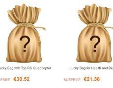 Lucky Bags Wundertueten GearBest