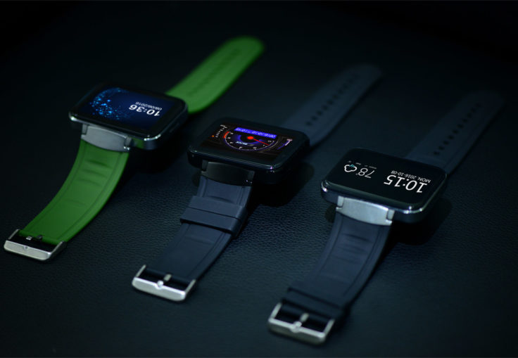 Makibes DM98 Smartwatch Farben