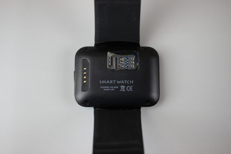 Makibes DM98 Smartwatch SIM Slot