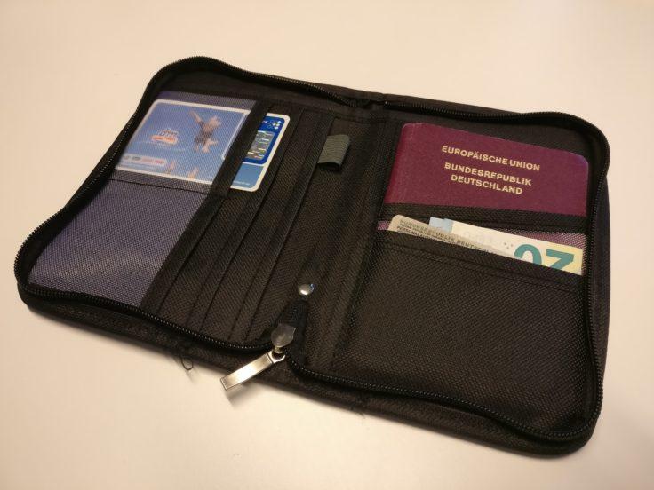 Reisepass Organiser