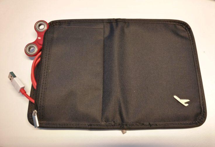 Reisepass Organiser Rückseite