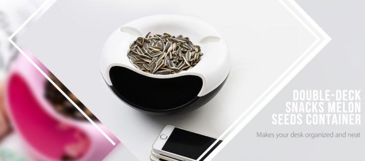Snack Schale Smartphone Halter