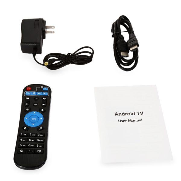 Sunvell T95Z Plus TV Box Zubehör