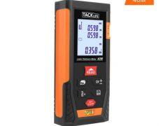 Tacklife Entfernungsmesser Erfahrungen : Tacklife hd40 laser entfernungsmessgerät für 22 99u20ac