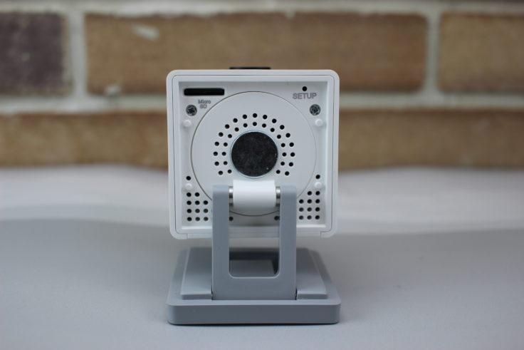 Xiaomi XiaoFang IP Camera iSC5 aufgeklappte Unterseite