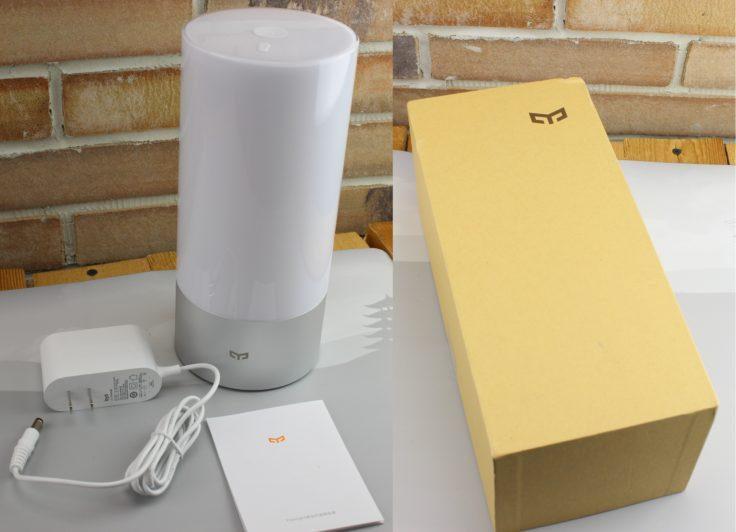 Xiaomi Yeelight Nachttischlampe Lieferumfang