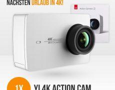 Xiaomi Yi 4K Gewinnspiel