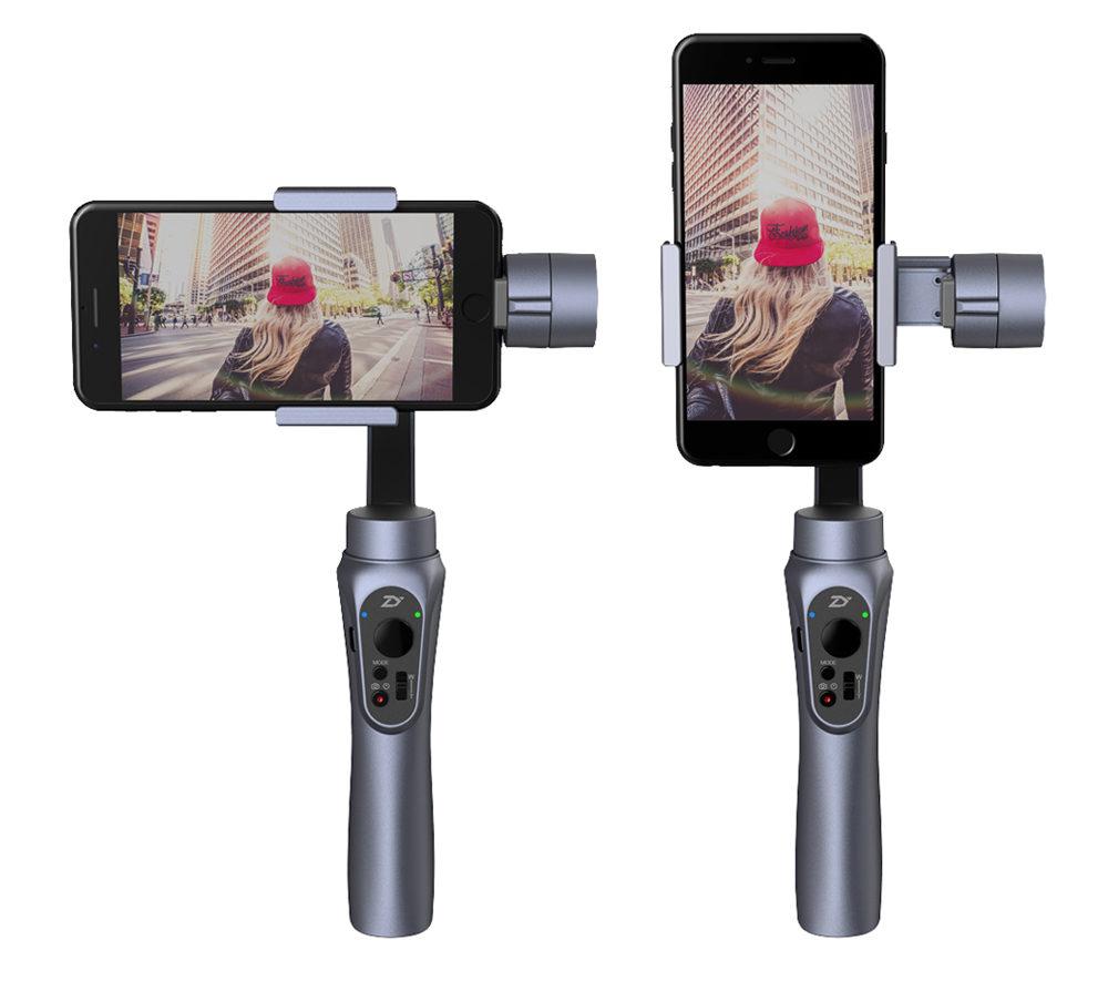 zhiyun smooth q stabilisierte smartphone videos mit 3 achsen gimbal. Black Bedroom Furniture Sets. Home Design Ideas