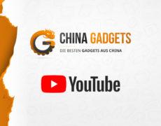 China Gadgets Logo und YouTube Logo