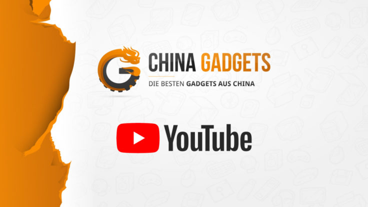China Gadgets Logo und YouTube Logo