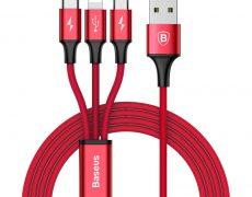 Baseus Rapid 3 in 1 USB Kabel