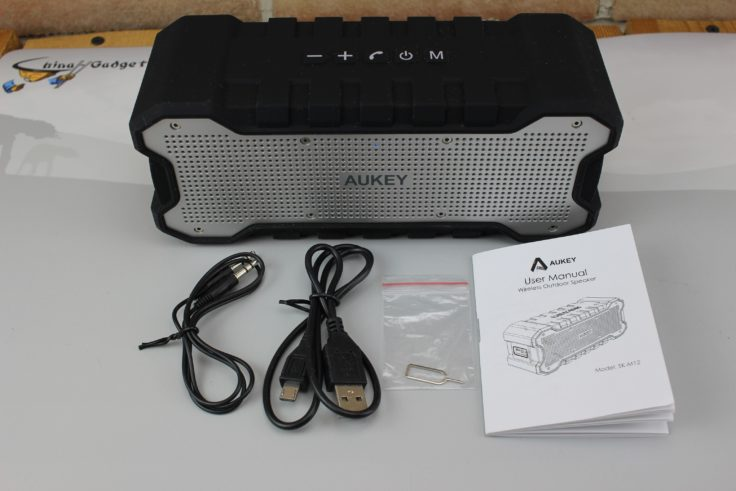 Aukey SK-M12 Lieferumfang