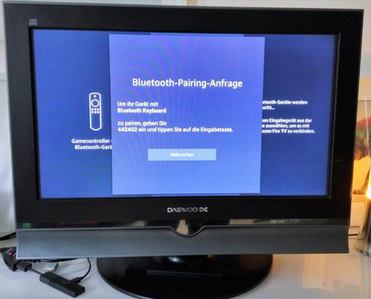 Bluetooth QWERTZ-Tastatur kwmobile Pairing