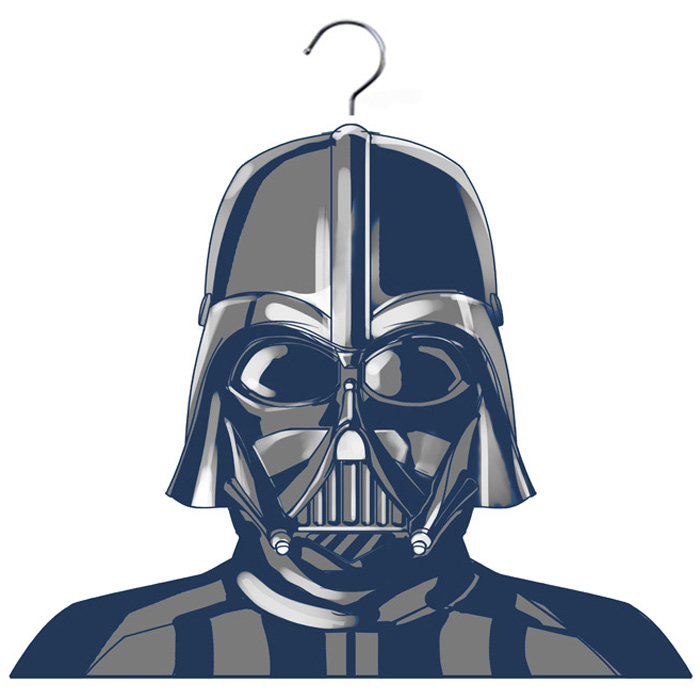Star Wars Kleiderbügel Modell Darth Vader schwarz