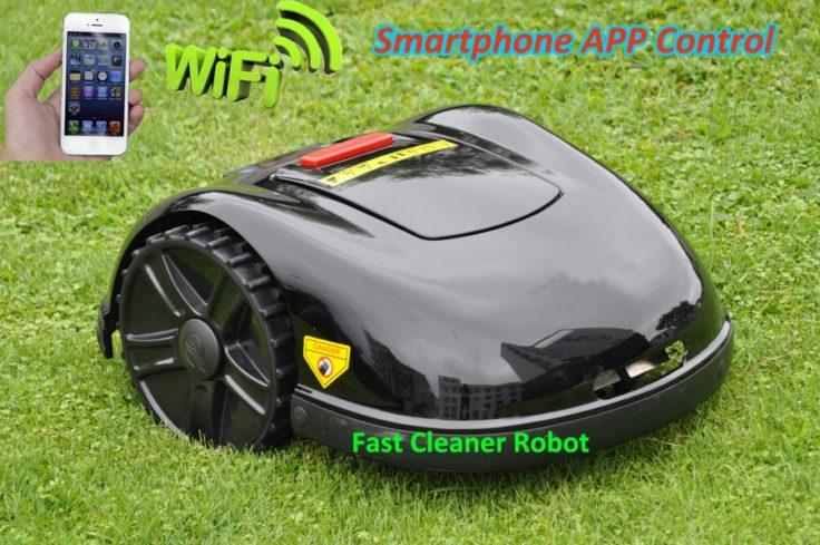 E1600 Maehroboter App-Steuerung