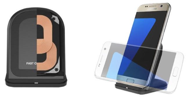 Induktive Handyhalterung Spulen und Anwendung