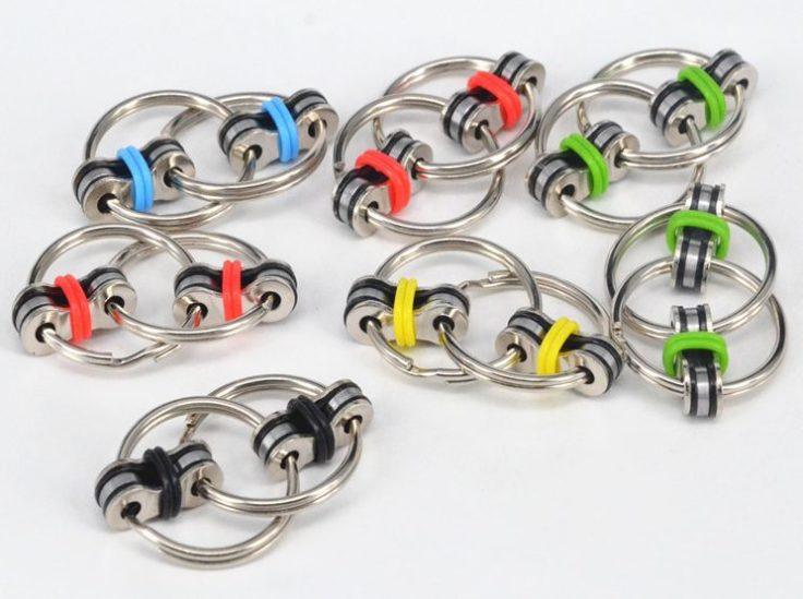 Fidget Ringe in verschiedenen Farben