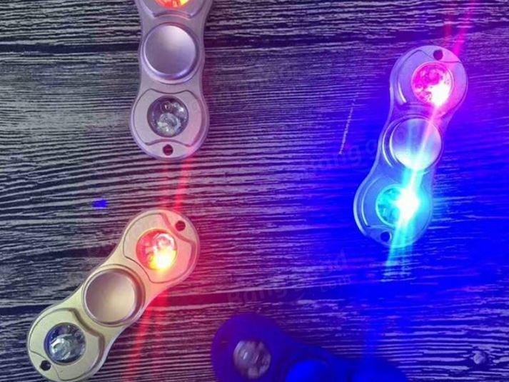 Fidget Spinner mit LEDs