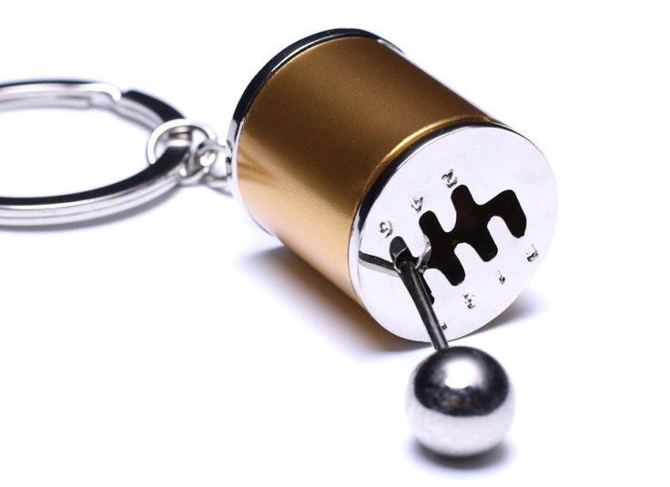 Schlüsselanhänger mit Autoschaltung Optik