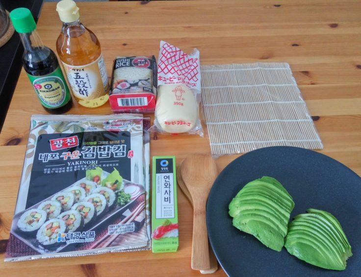 Sushezi Sushi Bazooka Zutaten