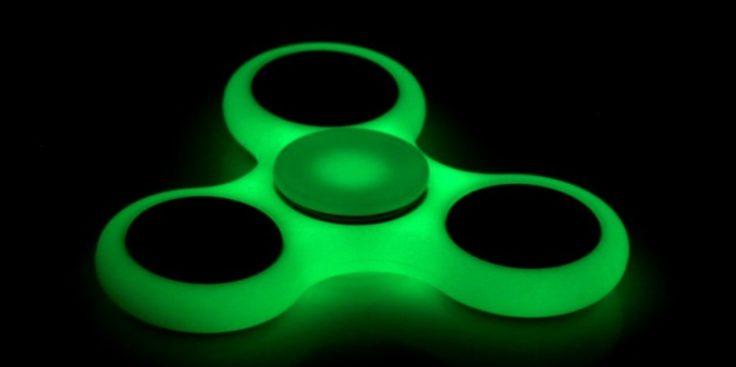 Fidget Spinner - leuchtend