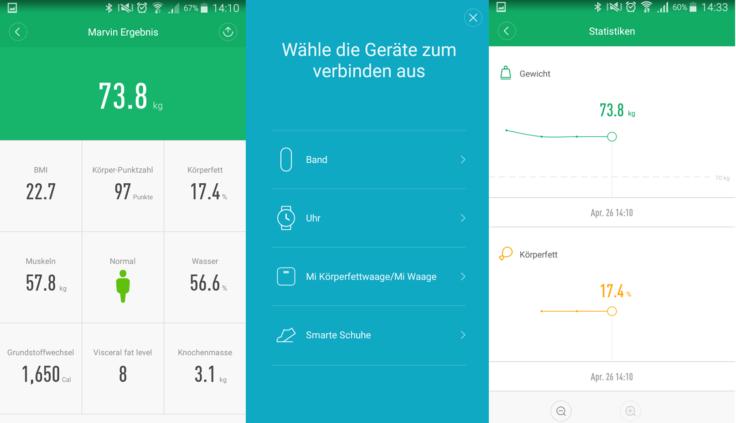 Xiaomi Mi Smartscale 2 MiFit App