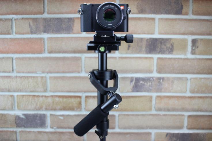 S40 Steadycam mit Kamera