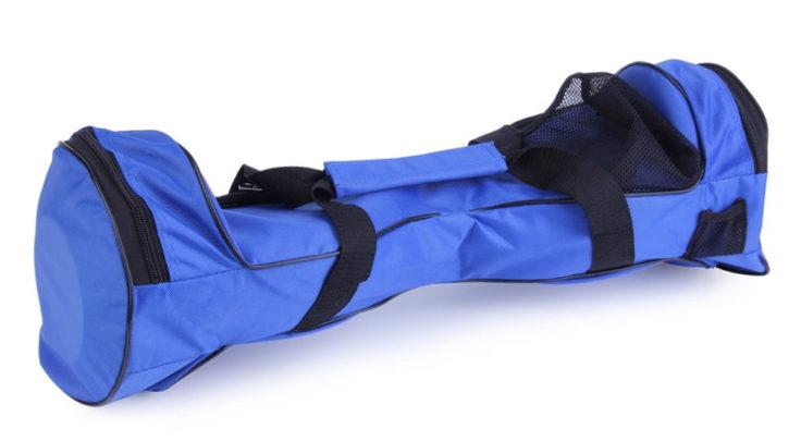 Blaue Scooter Tragetasche