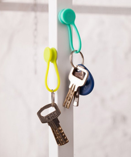 Silikon Kabelclips Schlüssel