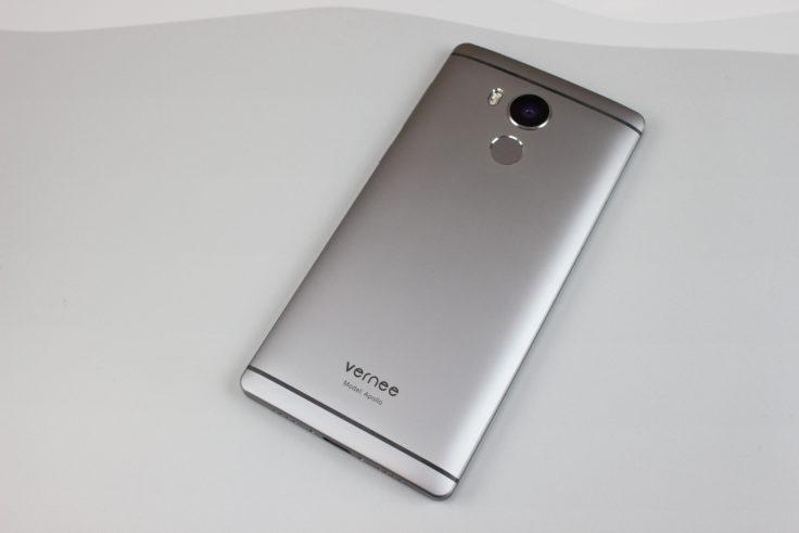 Smartphone Vernee Apollo Rückseite