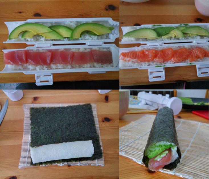 Sushezi Sushi Bazooka Arbeitsschritte