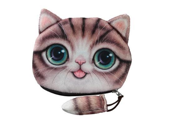Portemonnaie Katzen-Design