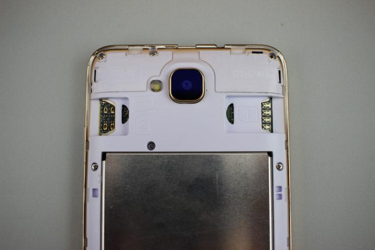 UHANS H5000 Dual-SIM und Micro-SD