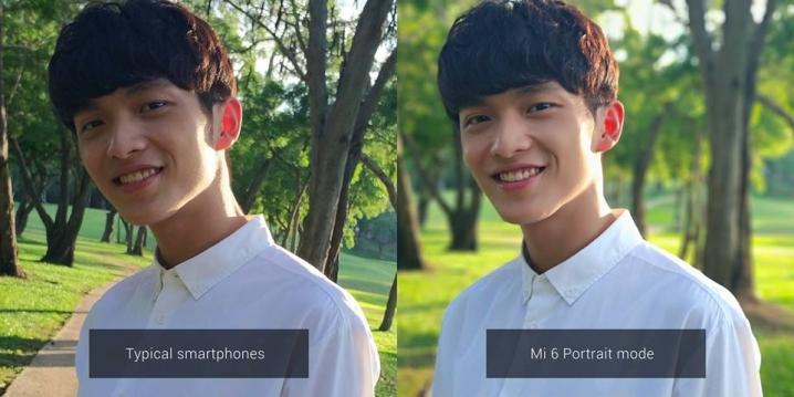 Xiaomi Mi 6 Smartphone Kamera