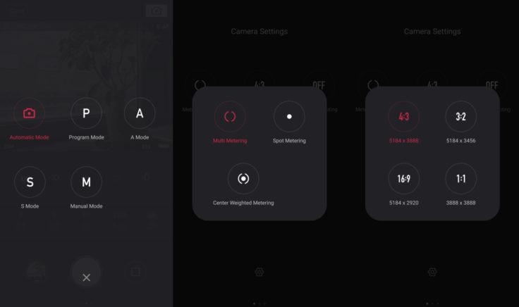 YI-M1 App Einstellungen