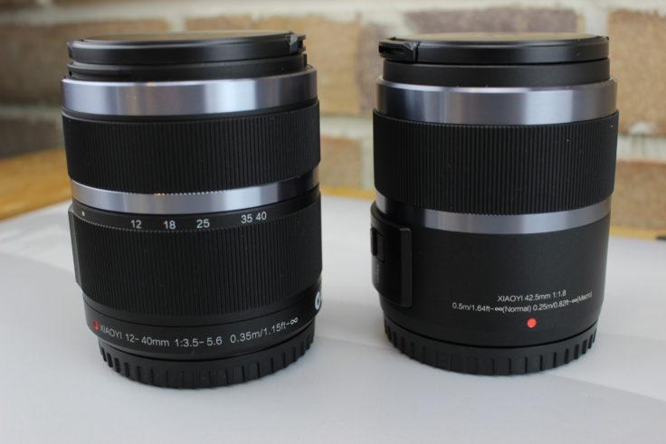 YI M1 Zoomobjektiv und Fenstbrennweite
