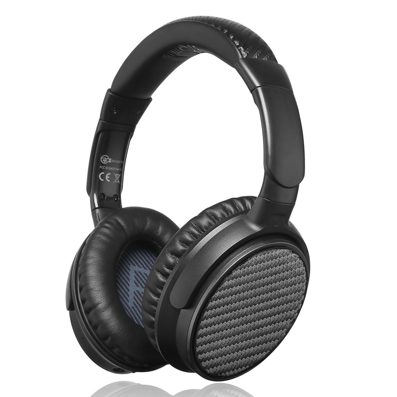 ideausa atomix v201 active noise cancelling over ear. Black Bedroom Furniture Sets. Home Design Ideas