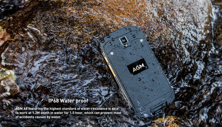 wasserdichtes AGM A8 Outdoor Smartphone