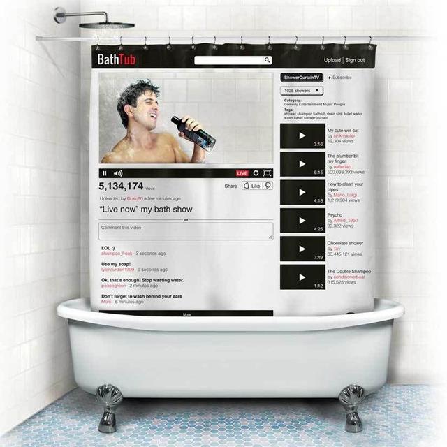 Bath Tub Duschvorhang